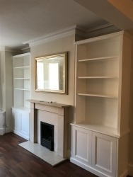 Fitted cupboards in Alcoves Twickenham, teddington 8/8/2017